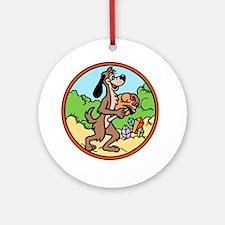Gneiss Doggie Ornament (Round)