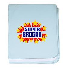 Brogan the Super Hero baby blanket