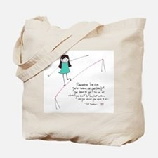 Its a Balancing Act Tote Bag