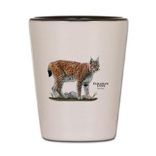 Eurasian Lynx Shot Glass