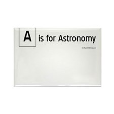 A is for Astronomy Rectangle Magnet
