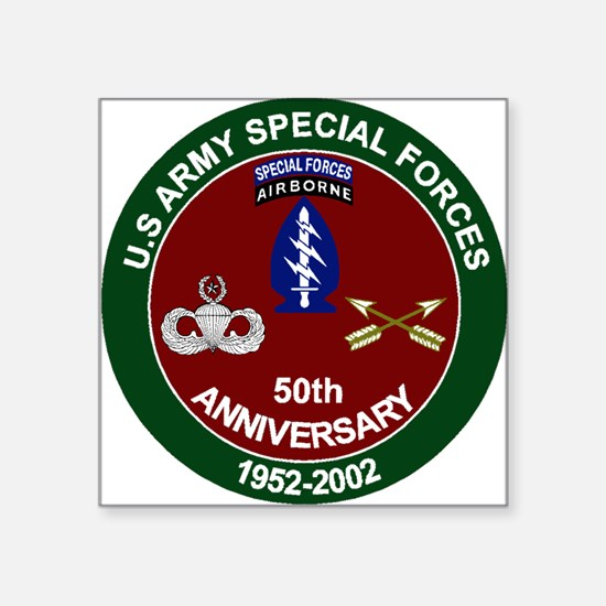 SpecFor 50th Sticker