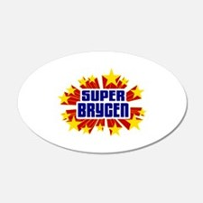 Brycen the Super Hero Wall Decal