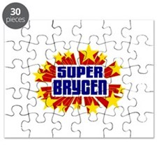 Brycen the Super Hero Puzzle