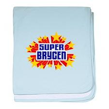 Brycen the Super Hero baby blanket