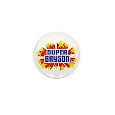 Bryson the Super Hero Mini Button