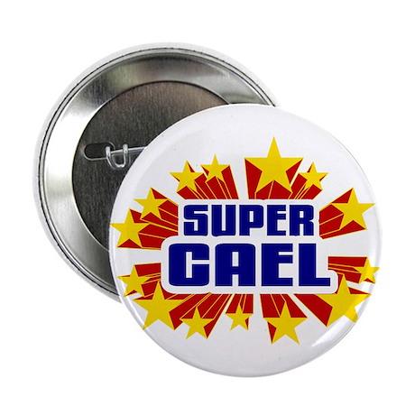 """Cael the Super Hero 2.25"""" Button"""