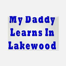 Daddy Learns in Lakewood Rectangle Magnet
