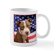 American pitbull puppy Mug
