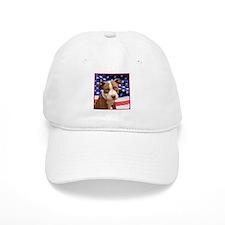 American pitbull puppy Baseball Baseball Cap