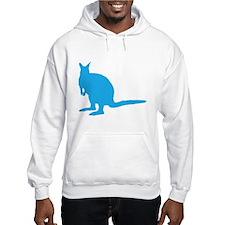 Blue Wallaby. Hoodie