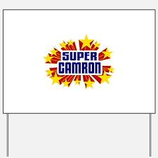 Camron the Super Hero Yard Sign