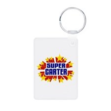Carter the Super Hero Keychains