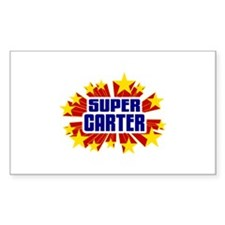Carter the Super Hero Decal