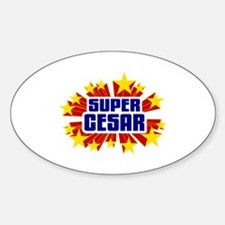 Cesar the Super Hero Decal