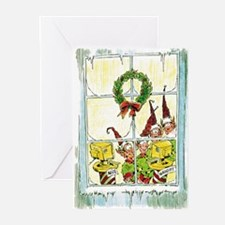 Naughty and Nice Greeting Cards (Pk of 10)