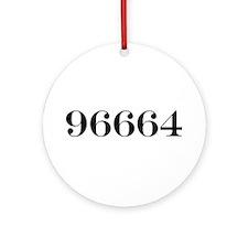 96664 Ornament (Round)