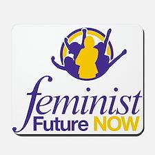 Feminist Future NOW Logo Mousepad