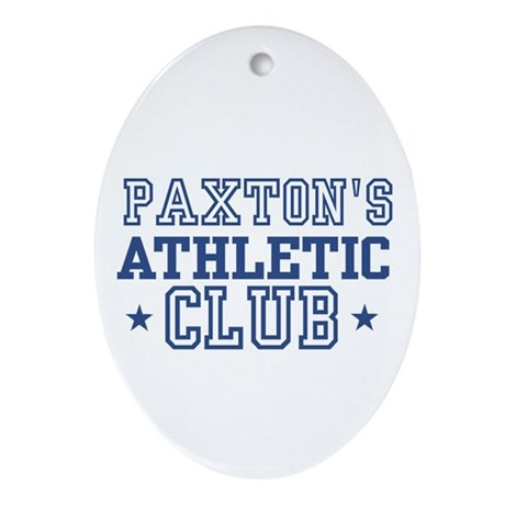 Paxton Oval Ornament
