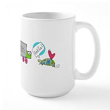 Turtle Finds Love Mug