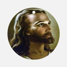 Our Lord Ornament (Round)