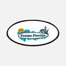 Tampa Florida - Surf Design. Patches
