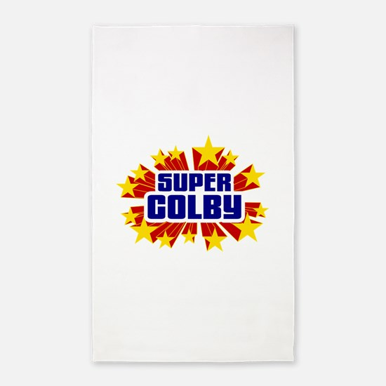 Colby the Super Hero 3'x5' Area Rug