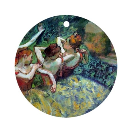 Dancers Ornament (Round)