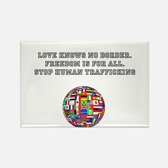 stop human trafficking Rectangle Magnet (10 pack)