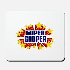 Cooper the Super Hero Mousepad
