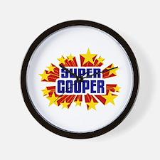 Cooper the Super Hero Wall Clock