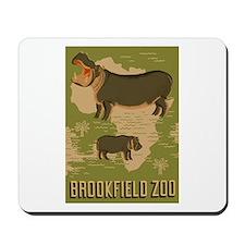 Hippo Zoo Mousepad