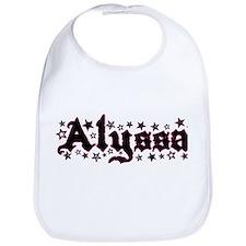 """""""Alyssa Stars"""" Bib"""