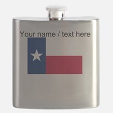 Custom Texas State Flag Flask