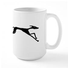Sleek Greyhound Art Mug