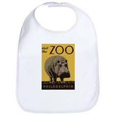 Hippo Zoo Bib