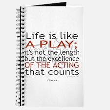 Seneca Quote on Acting Journal