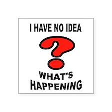 NO IDEA Sticker