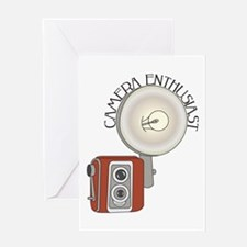 Enthusiast Greeting Card