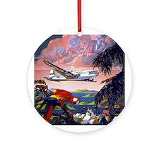 Paradise Flight Ornament (Round)