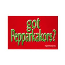 "'got Pepparkakors?"" Rectangle Magnet (100 pack)"
