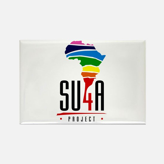 Project Stand Up For Afrika Rectangle Magnet