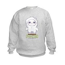 Cute Abominable Snowgirl Sweatshirt