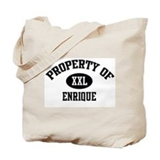 Property of Enrique Tote Bag