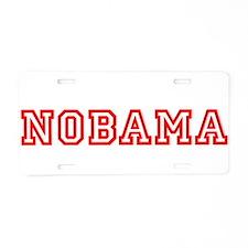 NOBAMA Aluminum License Plate