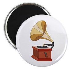 "Vintage Phonograph 2.25"" Magnet (100 pack)"
