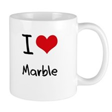 I Love Marble Mug