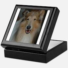 """Who Is Lassie? Do I Look Like Her""? Keepsake Box"