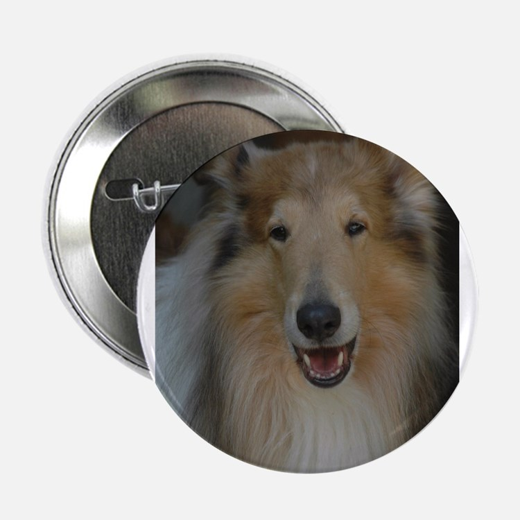 """""""Who Is Lassie? Do I Look Like Her""""? 2.25"""" Button"""