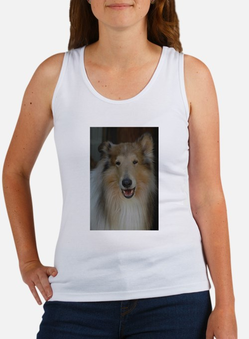 """""""Who Is Lassie? Do I Look Like Her""""? Tank Top"""